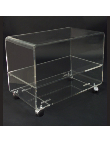 meuble tv 1 plateau largeur 800 mm en plexiglas blox usinage plastiques. Black Bedroom Furniture Sets. Home Design Ideas